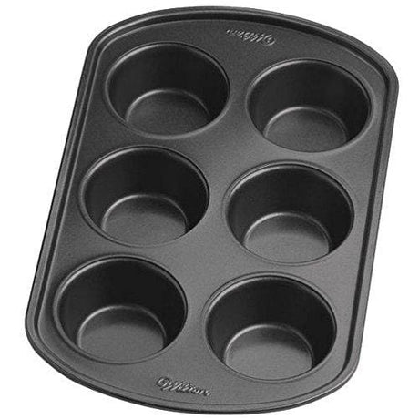 Wilton - 6 Cup Regular Sized Muffin Pan - Pack Of 2