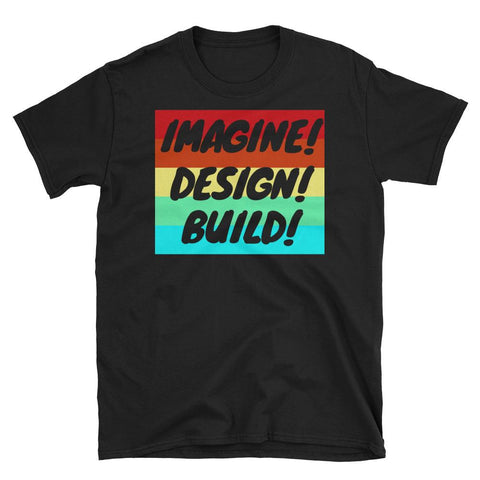 "Men's ""Imagine! Design! Build!"" Graphic Tee"