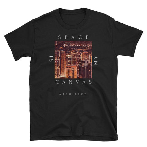 Men's Space Is My Canvas Graphic Tee