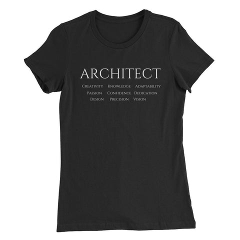 Women's Architect Graphic Tee Black