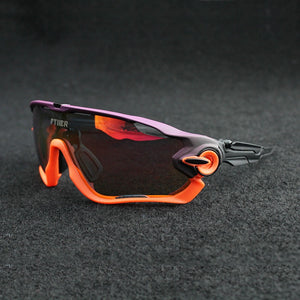 Men/Women Polarized 5 Lens Cycling Glasses outdoor Sport Road Bike Cycling Eyewear Cycling Sunglasses Bicycle Hiking Fishing
