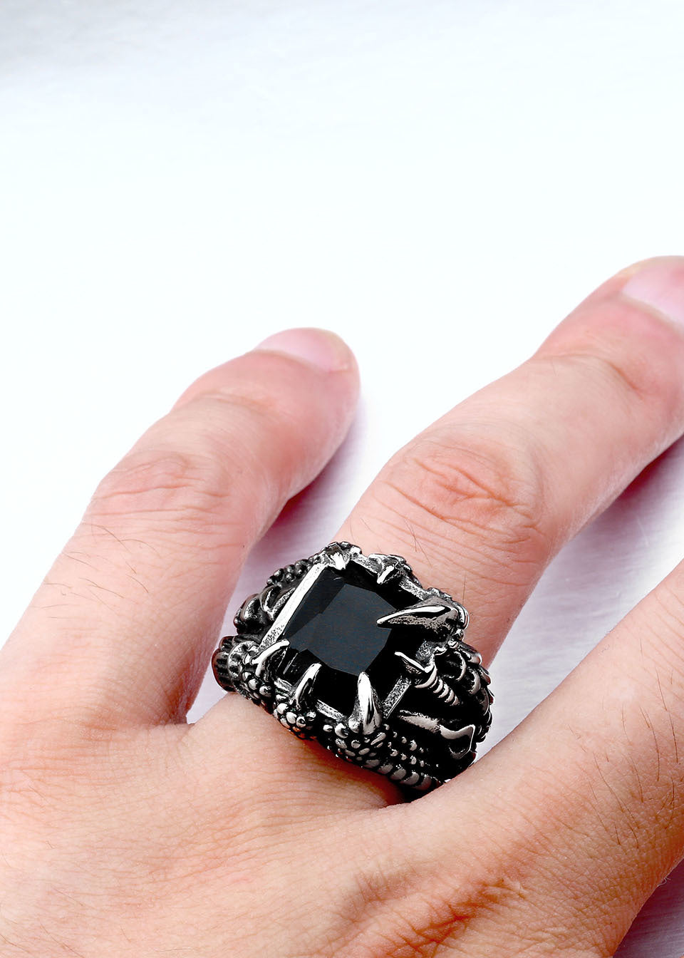 QQ Japanese Samurai Sword Ring - BlingBling4U