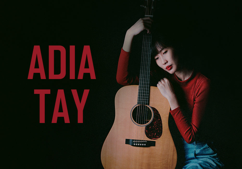 Introducing Singapore's Rising Songstress, Adia Tay