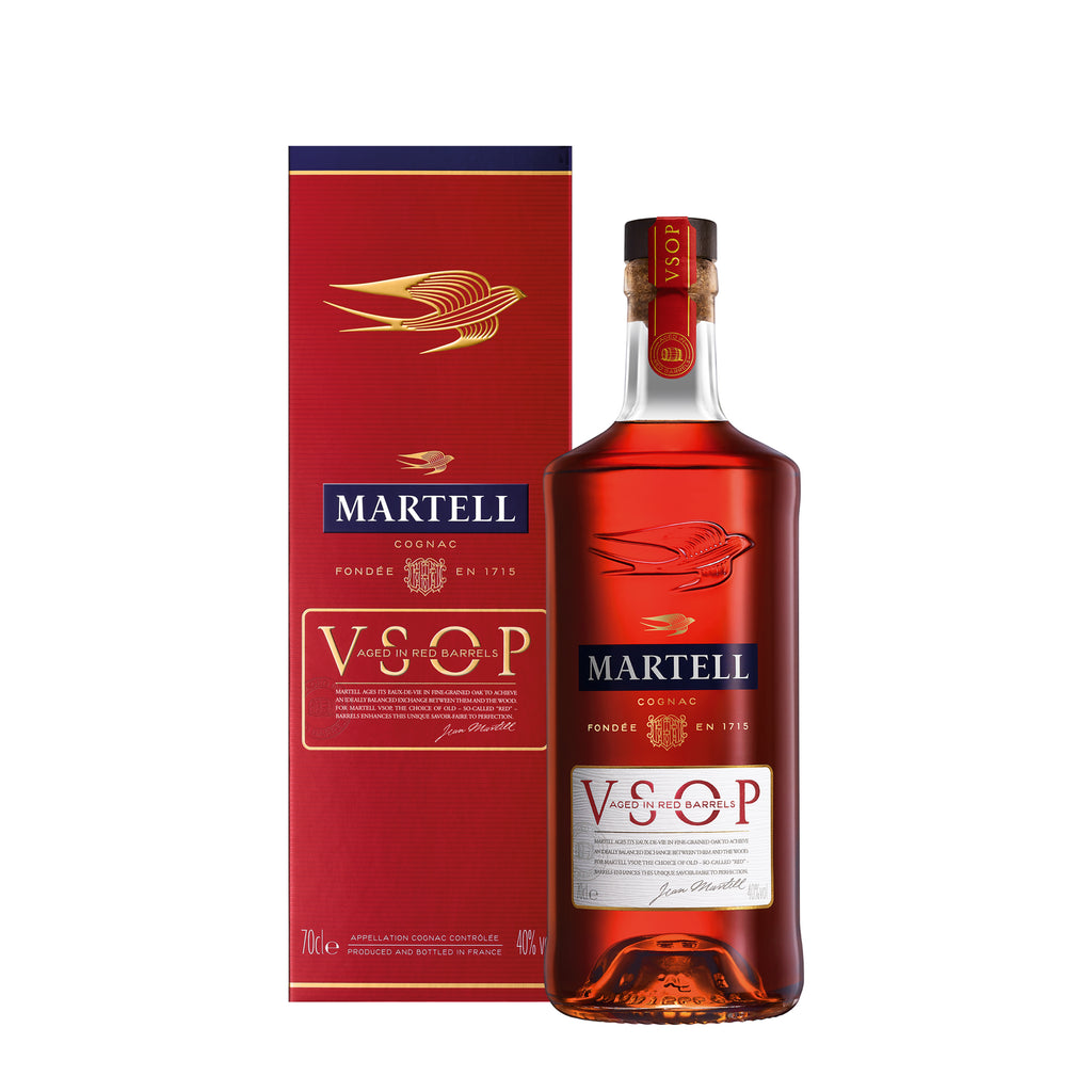 Martell V.S.O.P Aged in Red Barrels 700ml