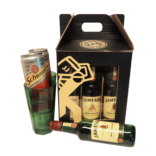 JAMESON PARTY PACK 4 X 20CL