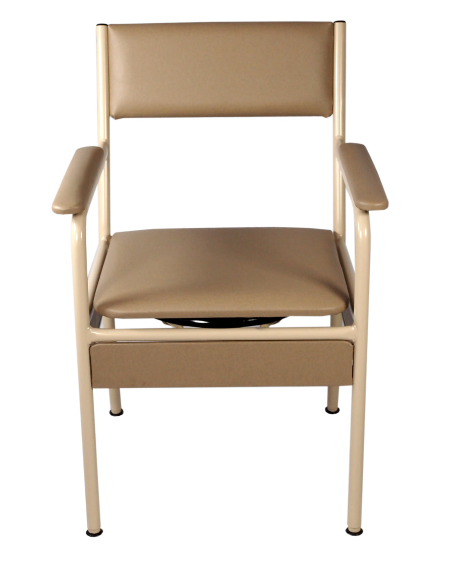 Bariatric Bedside Commode Chair with heavy duty frame