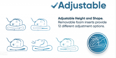 Adjustable Features of the Memory Foam Pillow