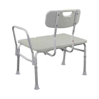 E115B Bariatric Transfer Bath Bench Back Angle