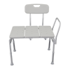 E115B Bariatric Transfer Bath Bench Front Angle