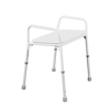 Shower stool lightweight aluminium