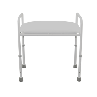 Shower stool with padded seat