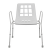 E143CW Steel Shower Chair