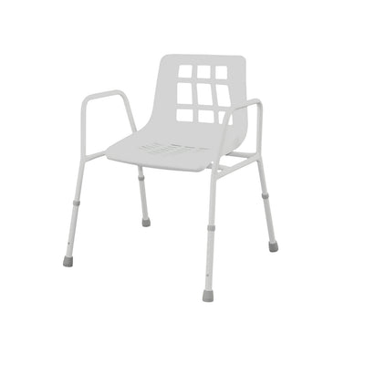 E143CW Steel wide Shower Chair