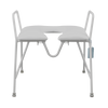 E212XOP Bariatric Over toilet frame with Padded Seat