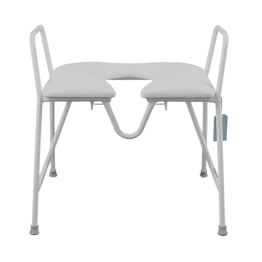 Bariatric Padded Seat Over Toilet Frame