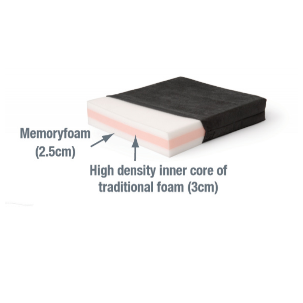 Diffuser Memory Foam Cushion For Seating And Wheelchairs - Endeavour