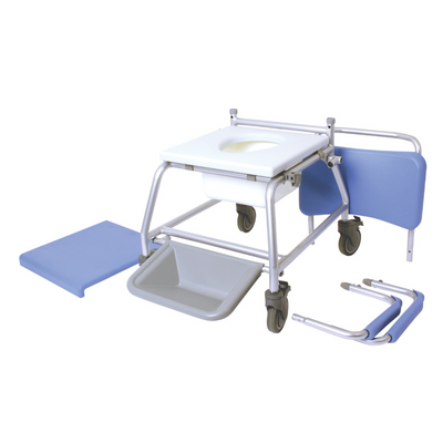 Mobile shower Commode disassembled