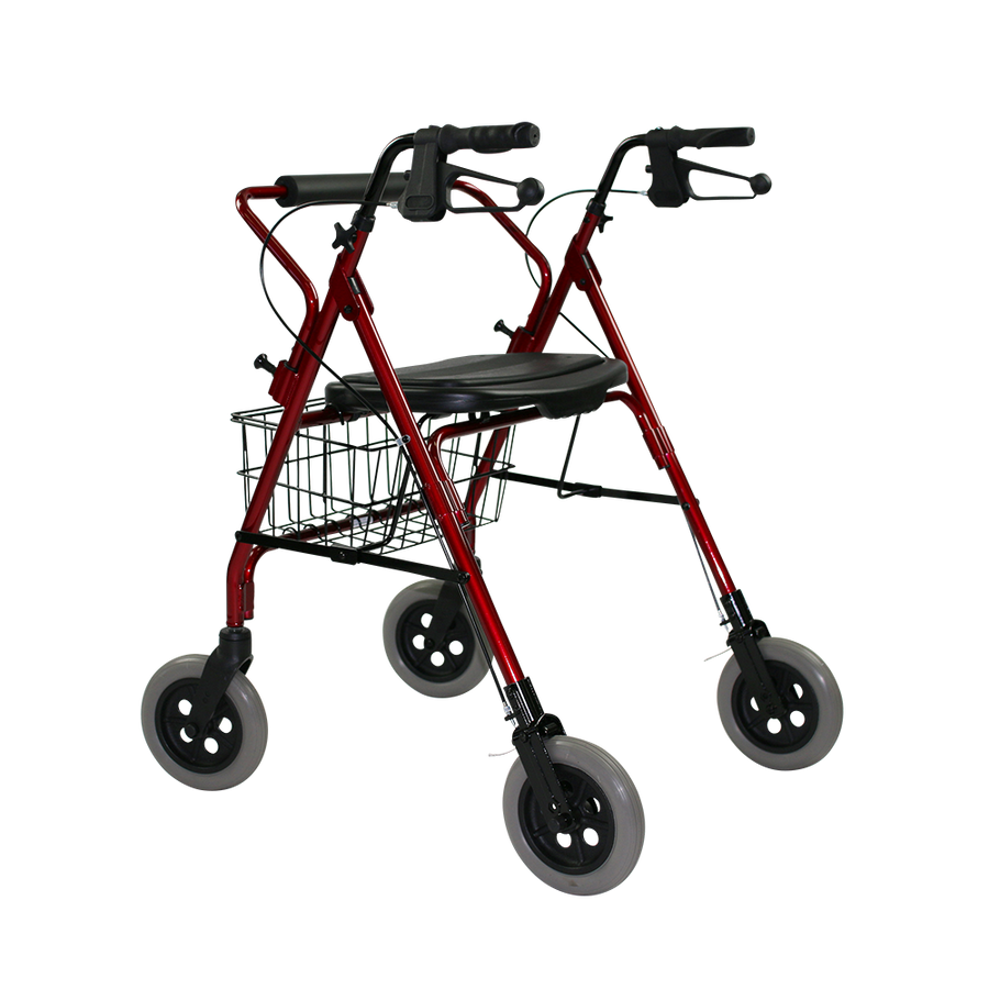 The Mack Bariatric Wheeled Walker and Rollator