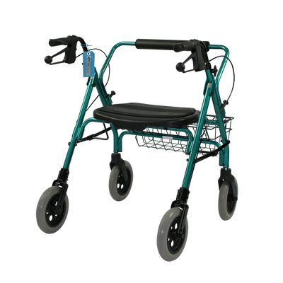 The Mini Mack Bariatric Wheeled Walker and Rollator