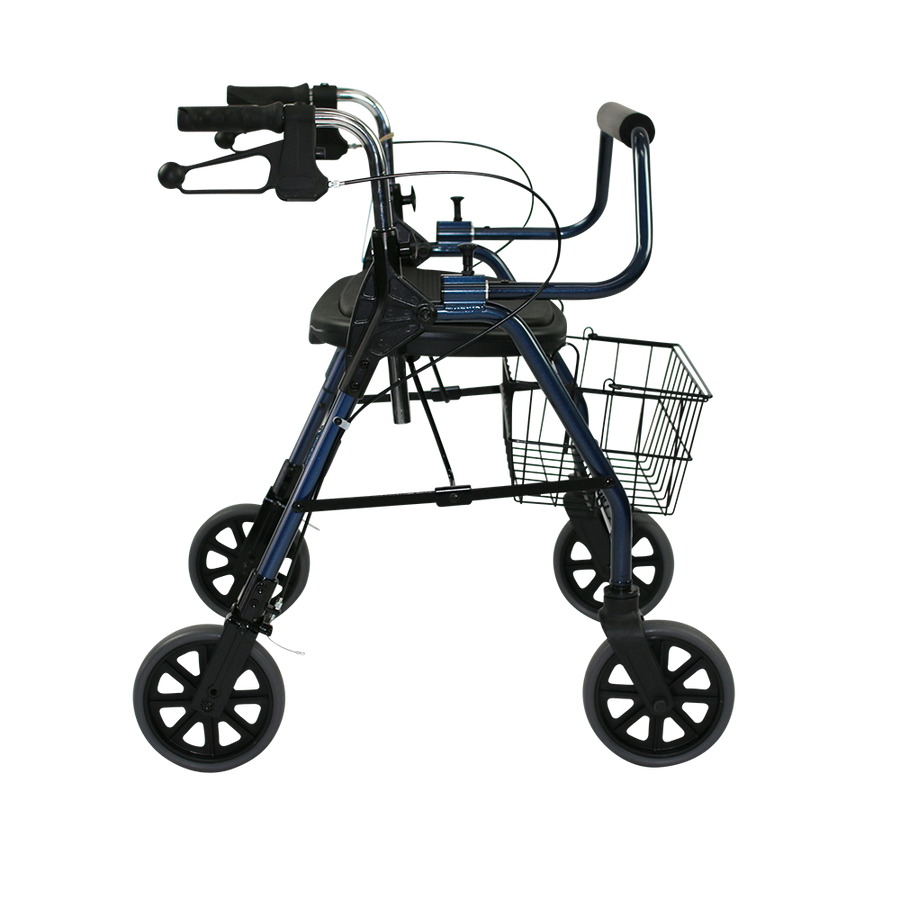 The Mighty Mack Bariatric Wheeled Walker and Rollator