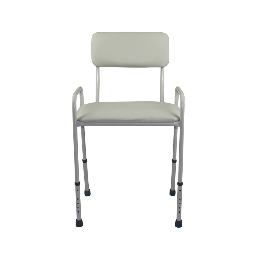Padded Seat Shower Stool with Backrest