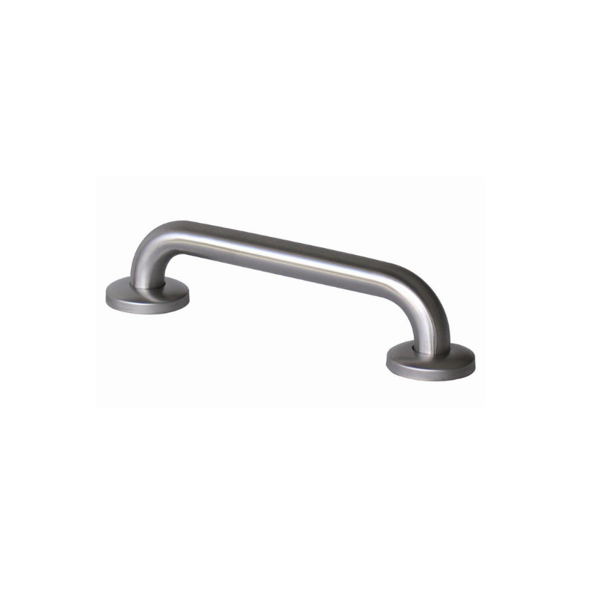 Satin Stainless Steel Grab Rail & Handrail with Concealed Fixing- 32mm