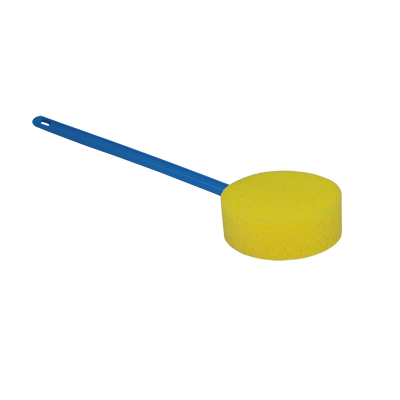 V10093 Long Handled Round Bath Sponge