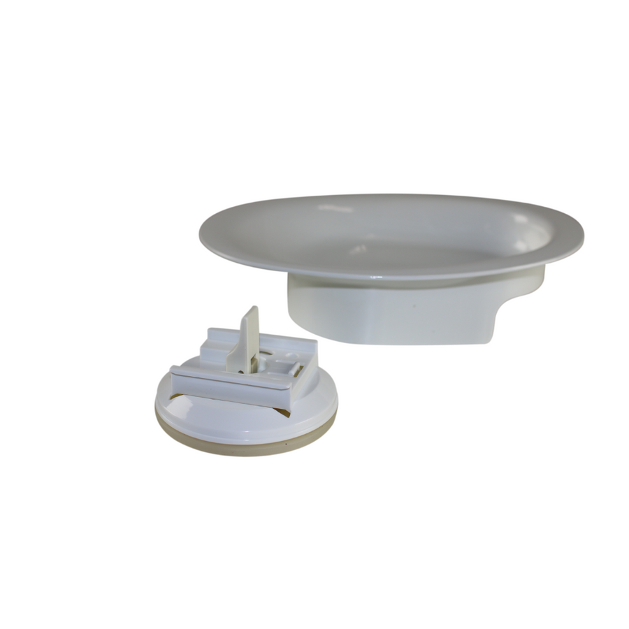 Scoop Plate with Suction Base