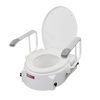 X214 Toilet Seat Raiser With Arms and Adjustable Height