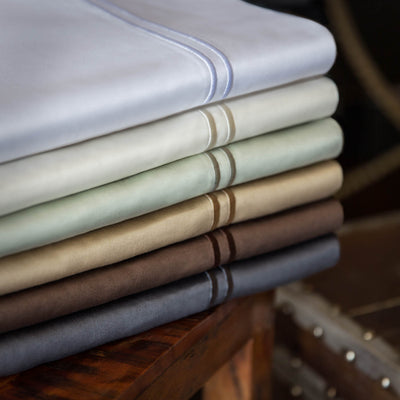 600 TC Egyptian Cotton Sheets in White