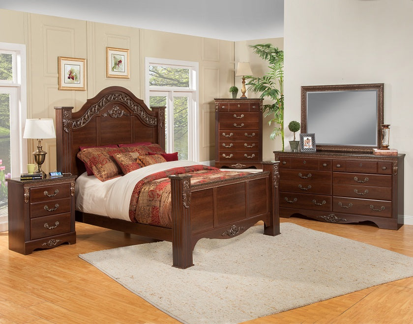 Raphael 6-Piece Bedroom Suite