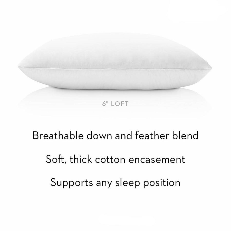Cotton Encased Down Blend Pillow