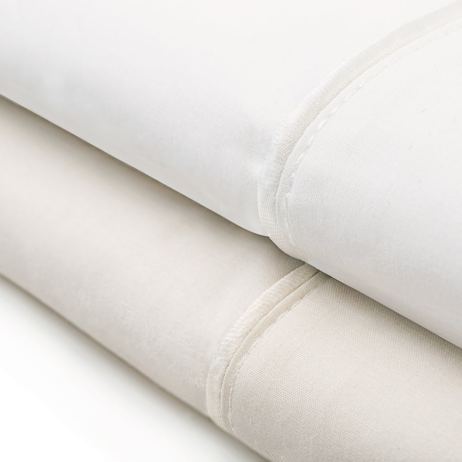 Italian Classic Sheets 200 TC in Ivory