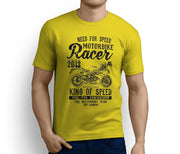 RH King Art Tee aimed at fans of Triumph Daytona 675 2017 Motorbike