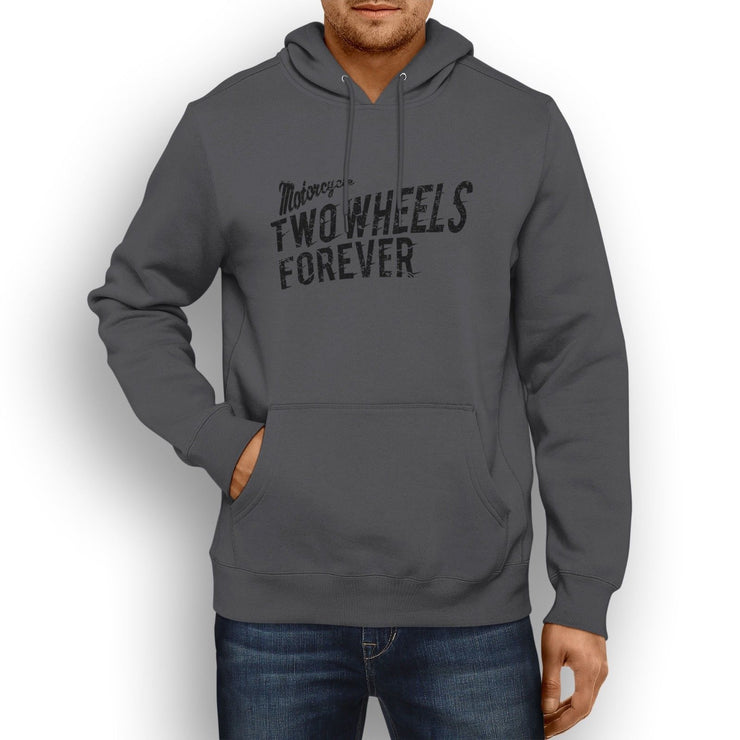 RH Illustration For A Ducati Scrambler Classic 2017 Motorbike Fan Hoodie