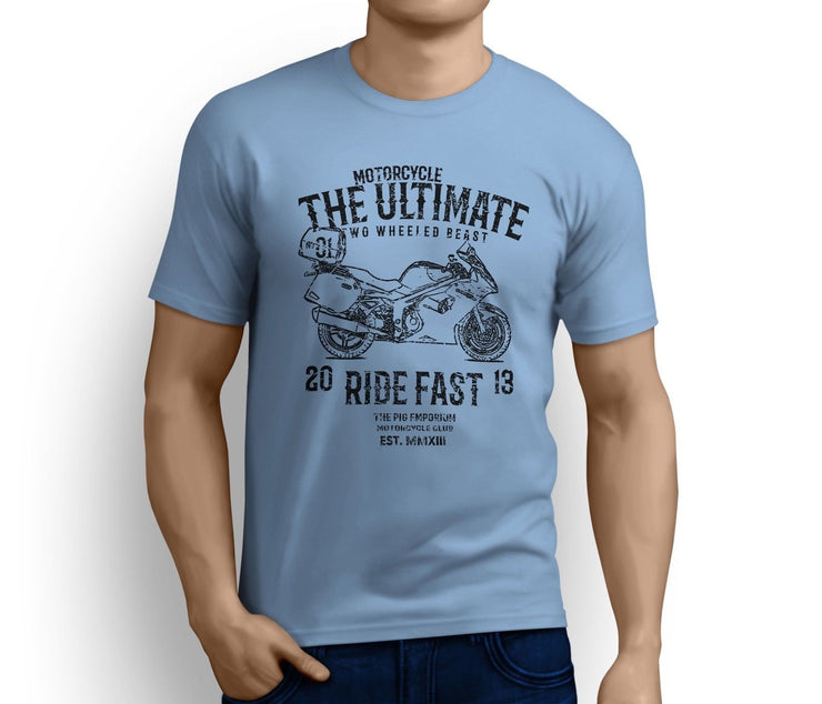 RH Ultimate Art Tee aimed at fans of Triumph Sprint GT SE Motorbike