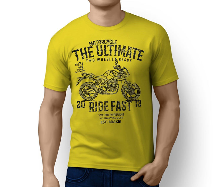 RH Ultimate Illustration For A Benelli UNO C 250 Motorbike Fan T-shirt