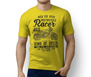 RH King Illustration For A Yamaha RD 350 LC Motorbike Fan T-shirt