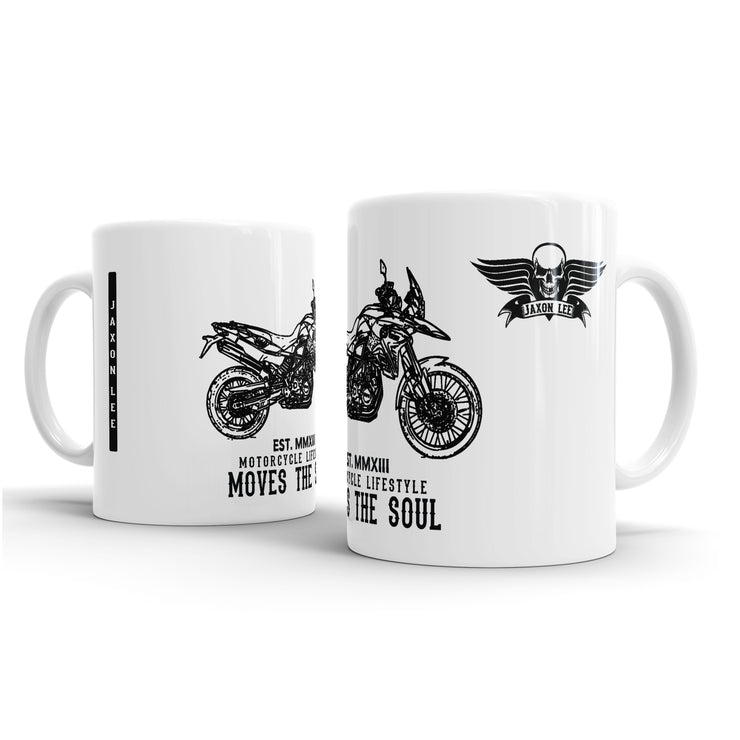 JL Illustration For A BMW F800GS Motorbike Fan – Gift Mug