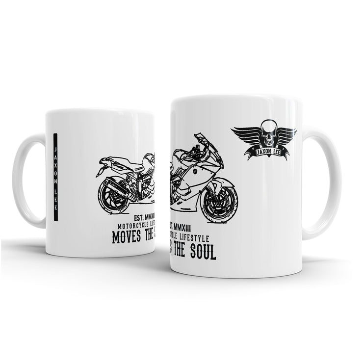 JL Illustration For A BMW K1300S Motorbike Fan – Gift Mug