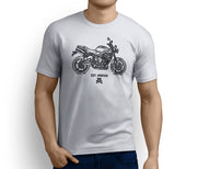 Road Hog Illustration For A Triumph Street Triple R 2011 Motorbike Fan T-shirt - Jaxon lee