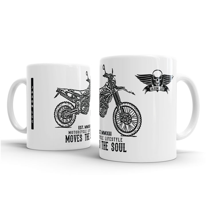 JL Illustration For A Beta 520RS Motorbike Fan – Gift Mug