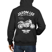 JL Ride Illustration For A Ducati Monster 796 Motorbike Fan Hoodie