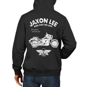 JL Ride Illustration For A Kawasaki Vulcan 900 Motorbike Fan Hoodie