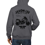 JL Ride Illustration For A Ducati Multistrada 1200 Enduro Motorbike Fan Hoodie