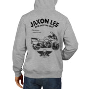 JL Ride Illustration For A BMW R1200RT 2017 Motorbike Fan Hoodie