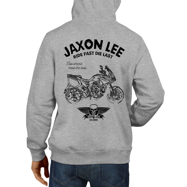 JL Ride Illustration For A MV Agusta Turismo Veloce RC Motorbike Fan Hoodie