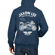 JL Ride Illustration for a Aprilia RS125 2009 Motorbike fan Hoodie