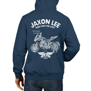 JL Ride Illustration For A MV Agusta Turismo Veloce 800 Motorbike Fan Hoodie