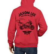 JL Ride Illustration For A Buell Ulysses XB12XT 2010 Motorbike Fan Hoodie